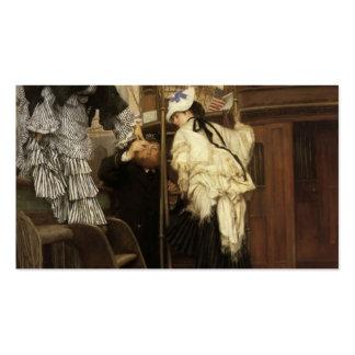 James Tissot- que sube al yate Plantillas De Tarjetas De Visita
