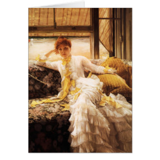 James Tissot Seaside Greeting Card