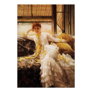 James Tissot Seaside Poster