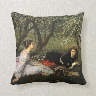 James Tissot Spring Pillow