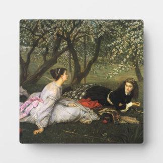 James Tissot Spring Plaque