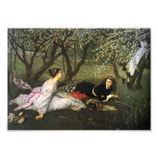 James Tissot Spring Print Photograph