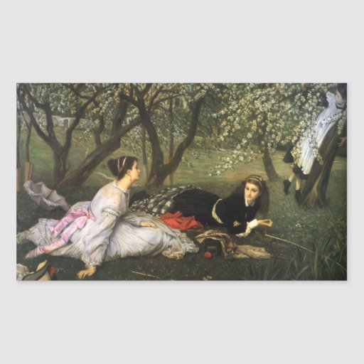 James Tissot Spring Stickers