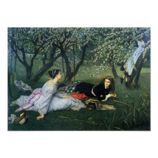 James Tissot - Springtime Poster