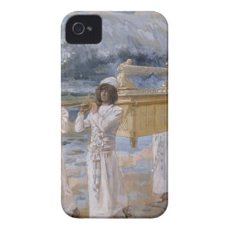 James Tissot - The Ark Passes Over the Jordan iPhone 4 Covers