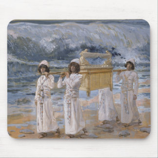 James Tissot - The Ark Passes Over the Jordan Mouse Pad