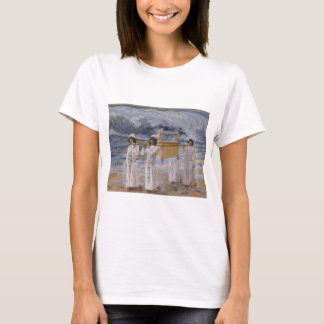 James Tissot - The Ark Passes Over the Jordan T-Shirt