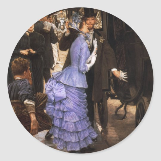 James Tissot The Bridesmaid Stickers