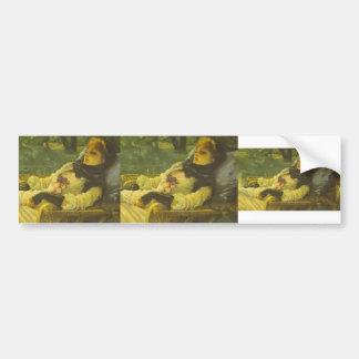 James Tissot- The Dreamer (Summer Evening) Car Bumper Sticker