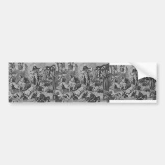 James Tissot: The Fire of Atonement Car Bumper Sticker