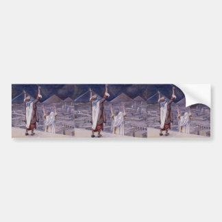 James Tissot: The Plague of Locusts Car Bumper Sticker