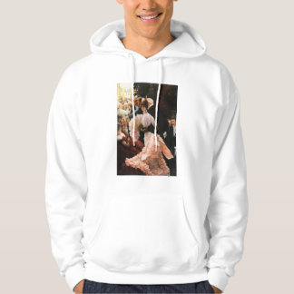 James Tissot The Political Lady Hoodie
