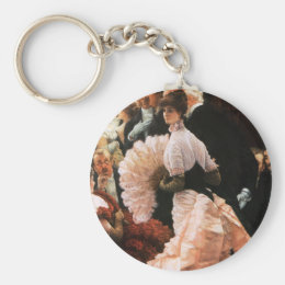 James Tissot The Political Lady Key Chain