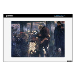 James Tissot - The Prodigal Son in Modern Life - T Decals For Laptops