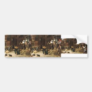 James Tissot- The Return of the Prodigal Son Car Bumper Sticker