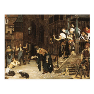 James Tissot - The Return of the Prodigal Son GC Postcard