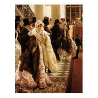 James Tissot- The Woman of Fashion (La Mondaine) Postcard