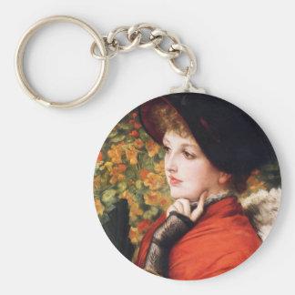 James Tissot Type of Beauty Key Chain