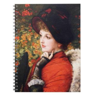 James Tissot Type of Beauty Notebook