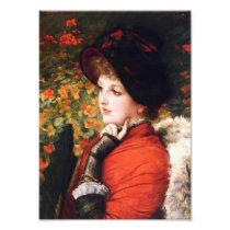 James Tissot Type of Beauty Print