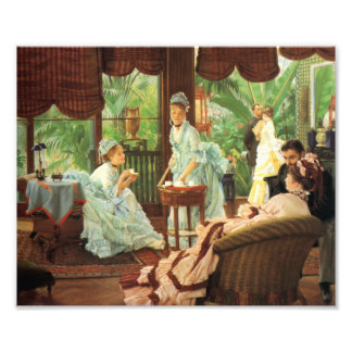 James Tissot Victorian Tea Party Print