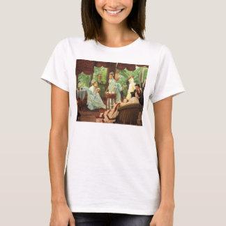James Tissot Victorian Tea Party T-shirt