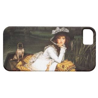 James Tissot Young Lady in a Boat iPhone Case