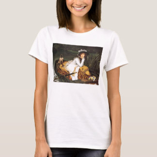 James Tissot Young Lady in a Boat T-shirt