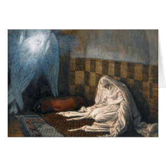 """James Tissot's """"The Annunciation"""" Advent/Christmas Greeting Card"""