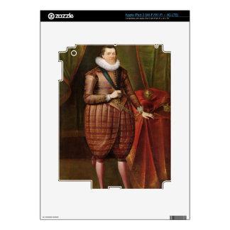 James VI de Escocia e I de Inglaterra (1566-1625), iPad 3 Skin