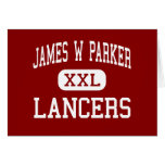 James W Parker - Lancers - Middle - Edinboro Greeting Card