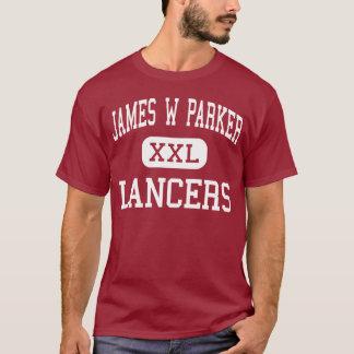 James W Parker - Lancers - Middle - Edinboro T-Shirt