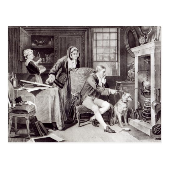 James Watt  Playing with Steam Postcard