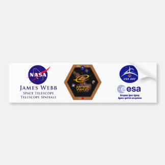 James Webb Space Telescope CSA Patch Bumper Sticker