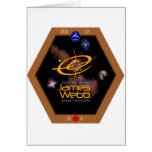 James Webb Space Telescope CSA Patch Cards