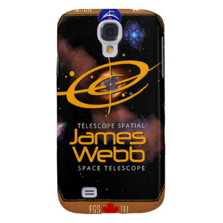James Webb Space Telescope CSA Patch Galaxy S4 Covers