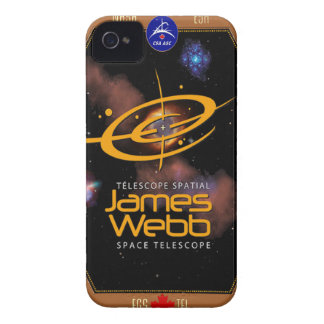 James Webb Space Telescope CSA Patch iPhone 4 Cover