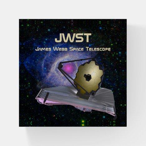 James Webb Space Telescope JWST Paperweight
