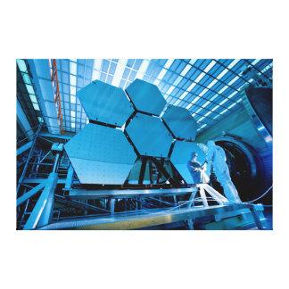 James Webb Space Telescope Mirror Canvas Print