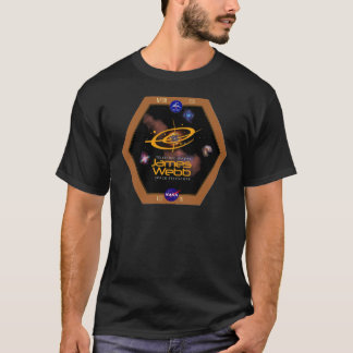 James Webb Space Telescope NASA Patch T-Shirt