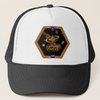 James Webb Space Telescope NASA Patch Trucker Hat
