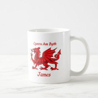 James Welsh Dragon Coffee Mug