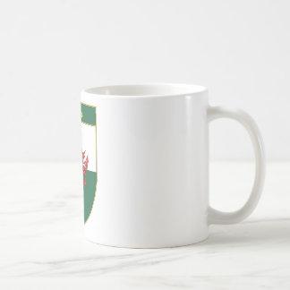 James Welsh Flag Shield Coffee Mug