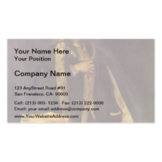 James Whistler- Arrangement in Black Double-Sided Standard Business Cards (Pack Of 100)