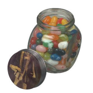 James Whistler- Arrangement in Black Jelly Belly Candy Jar