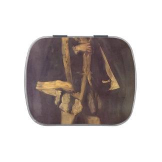 James Whistler- Arrangement in Black Candy Tin