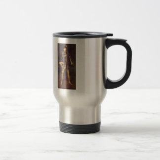 James Whistler- Arrangement in Black 15 Oz Stainless Steel Travel Mug