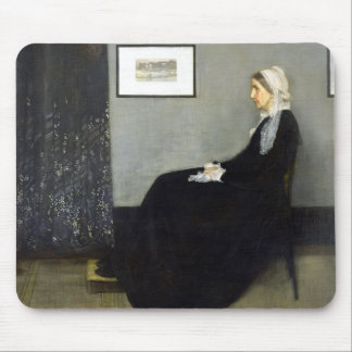 JAMES WHISTLER - Arrangement in grey and black Mouse Pad