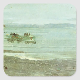 James Whistler- Grey and Silver Mist - Lifeboat Stickers