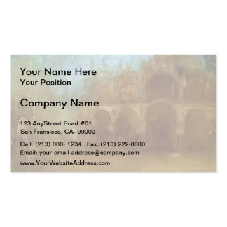 James Whistler- Nocturne: St Mark's, Venice Business Card